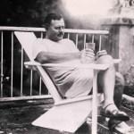 Ernest Hemingway enjoying his Finca la Vigia in Cuba