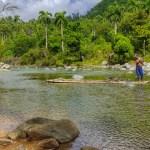 River of El Yunque of National Park Humboldt