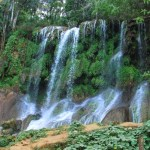 El Nicho Park Waterfall
