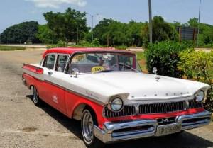 Mercury 1958 Monterey oldtimer taxi Transfer-Transport Service Cuba