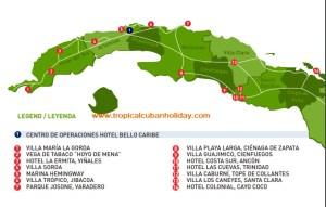 Cuba Vintage Vacation Parking Area - cuba on the road- campervan rental