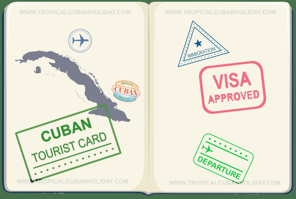 Cuba Tourist Card - Visa