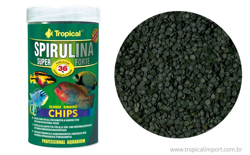 Super Spirulina Forte Chips