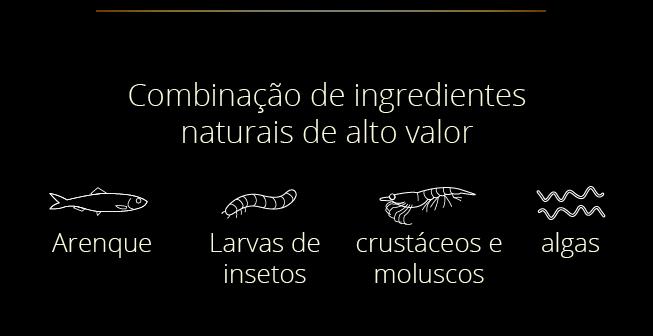 Ingredientes Especiais nas rações