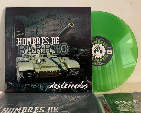 Vinilo de Hombres de Barrio - Street Punk / Oi! desde Medellín Colombia