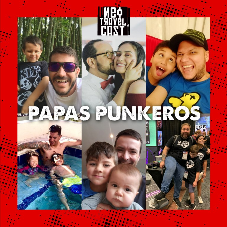 El balance entre ser Papá y ser punkero