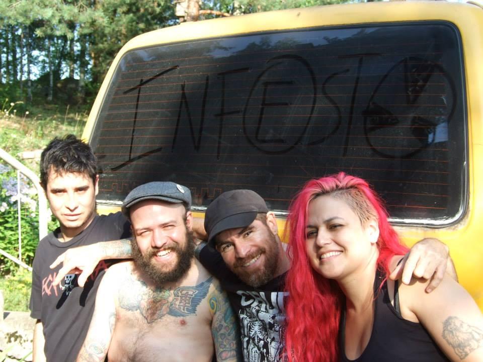 Infesto, banda de hardcore punk de Medellin, Colombia