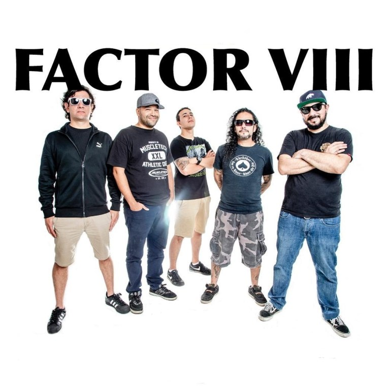 Factor VIII lanzó el sencillo 'Palabras' y celebran 25 años de trayectoria