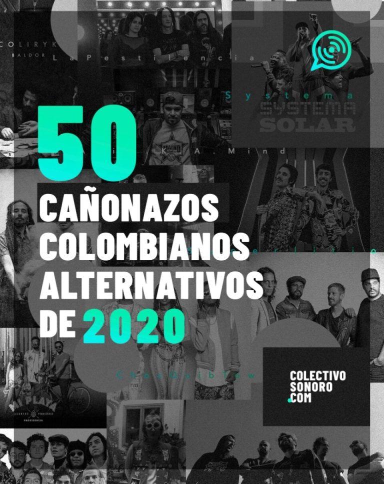 50 cañonazos musicales de Colombia en 2020