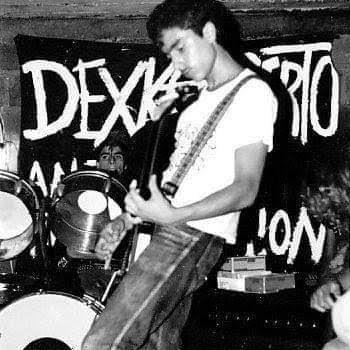 Mauricio López, guitarrista y fundador de Dexkoncierto, banda de hardcore punk de Medellin (Colombia)