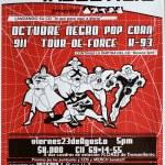 Lanzamiento de discos de Punk en Bogotá