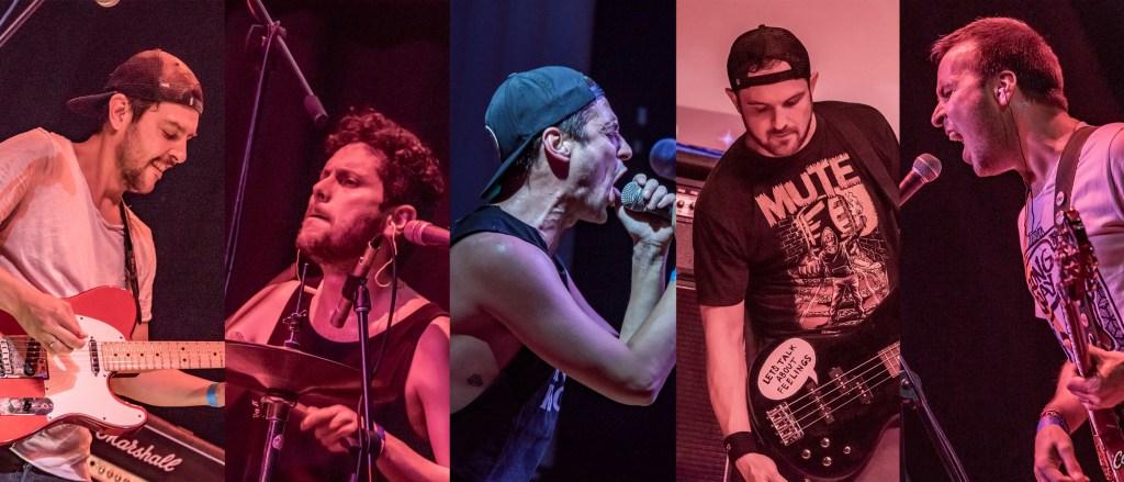 Integrantes de LAPM (Punk Rock de Colombia)