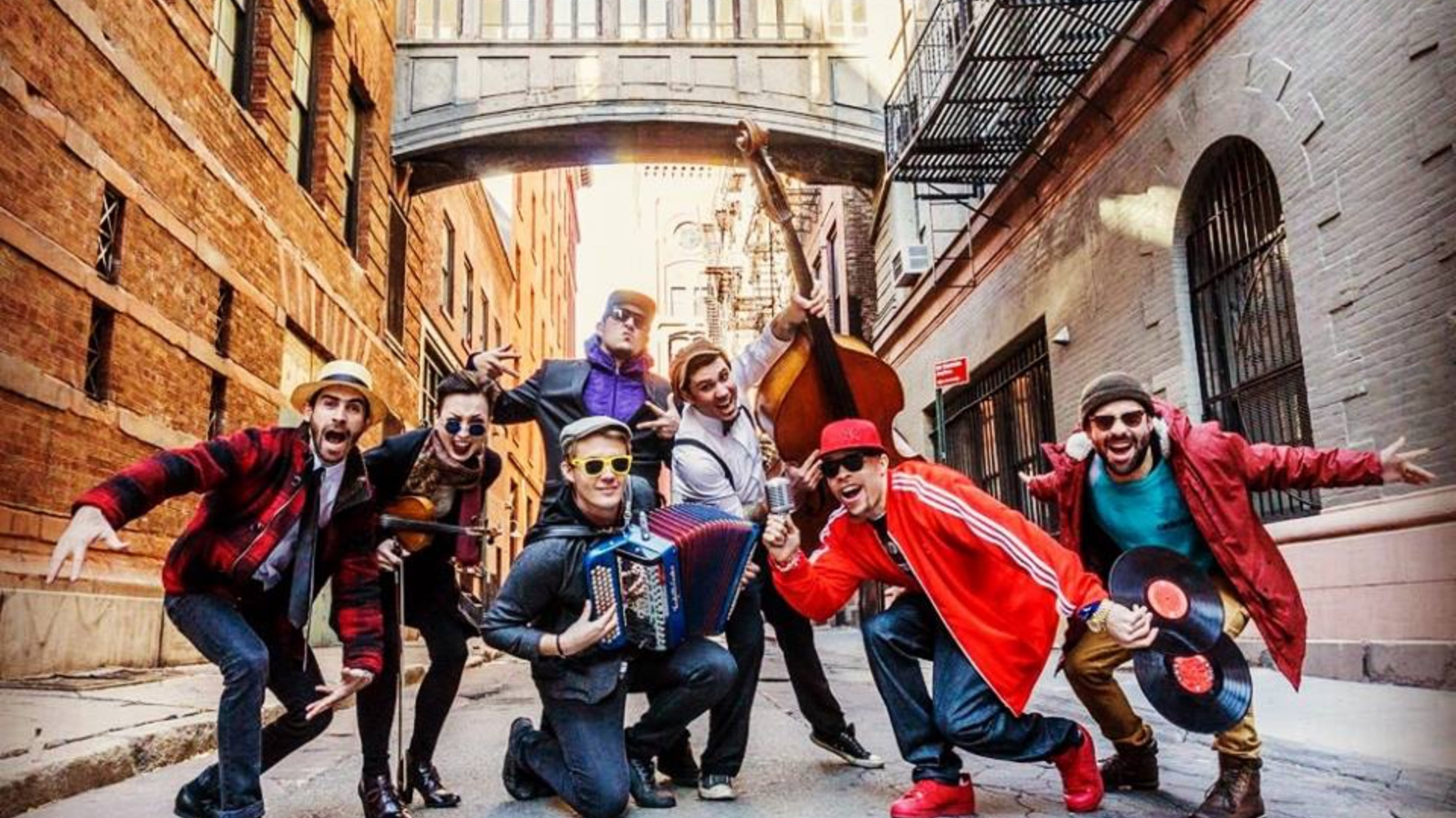 Speakeasy Streets, banda de Swing, Ska Punk, Rockabilly y Hip Hop de Nueva York en Sabado Internacional de Tropical Punk Records