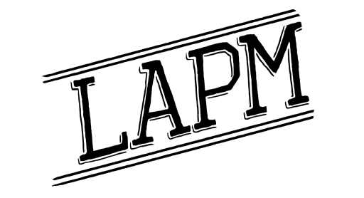 Logo de LAPM, banda punk rock de Bogota, Colombia | Tropical Punk Records