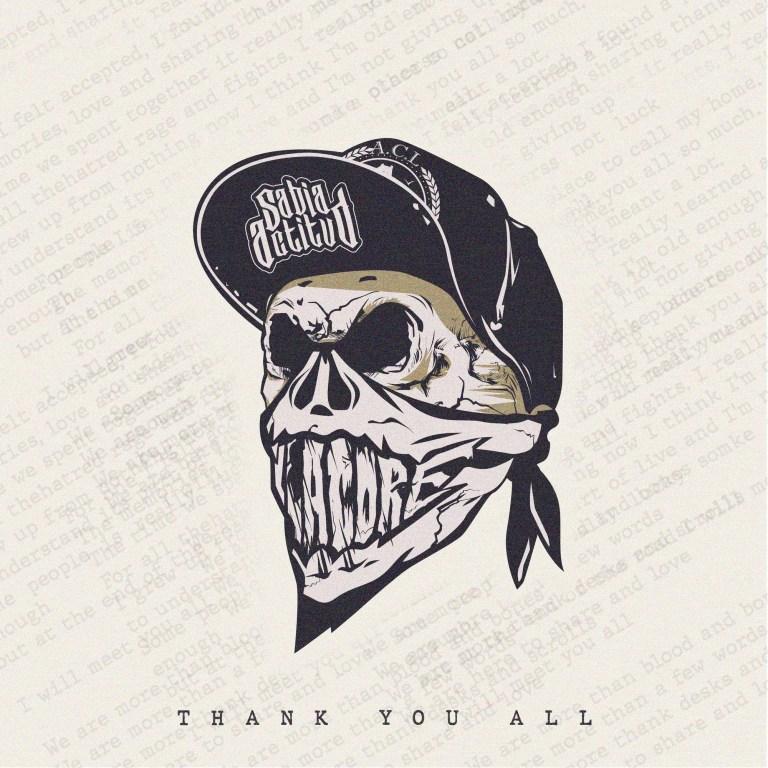 Portada de Thank You All - Sabia Actitud