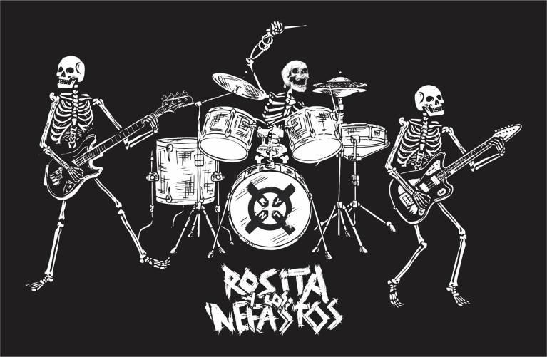 Rosita y los nefastos, la banda de punk rabioso que tienes que escuchar