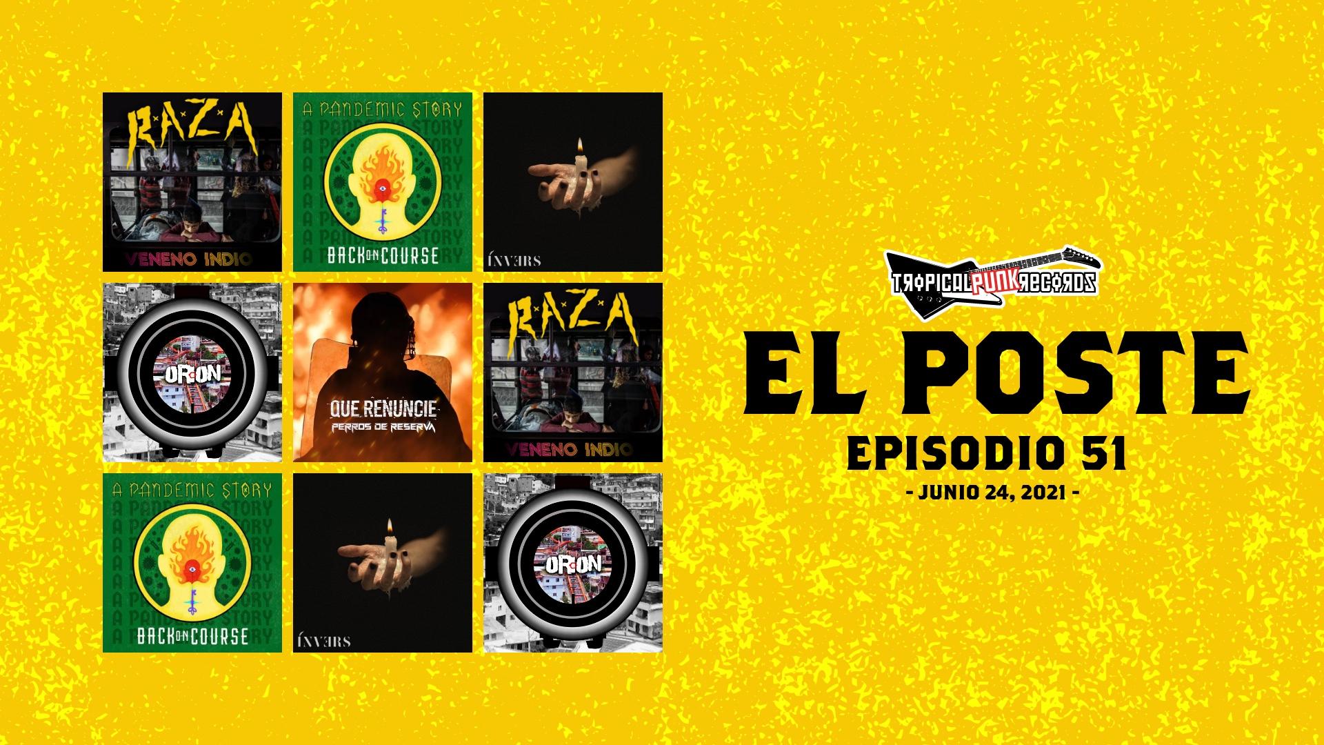 El Poste con R.A.Z.A., Back On Course, Lemmiwinks, Invers, Perros de Reserva y Secuestrados Estatales | El Neo Travel Cast es un podcast de Tropical Punk Records