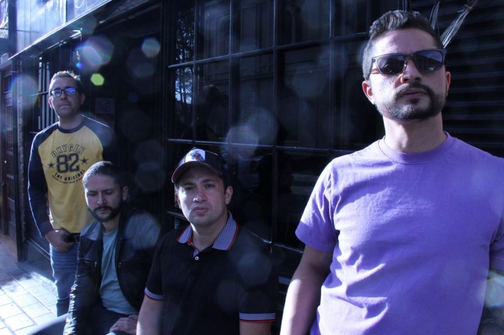 Banda de punk rock de Colombia - Cuatro x Cuatro