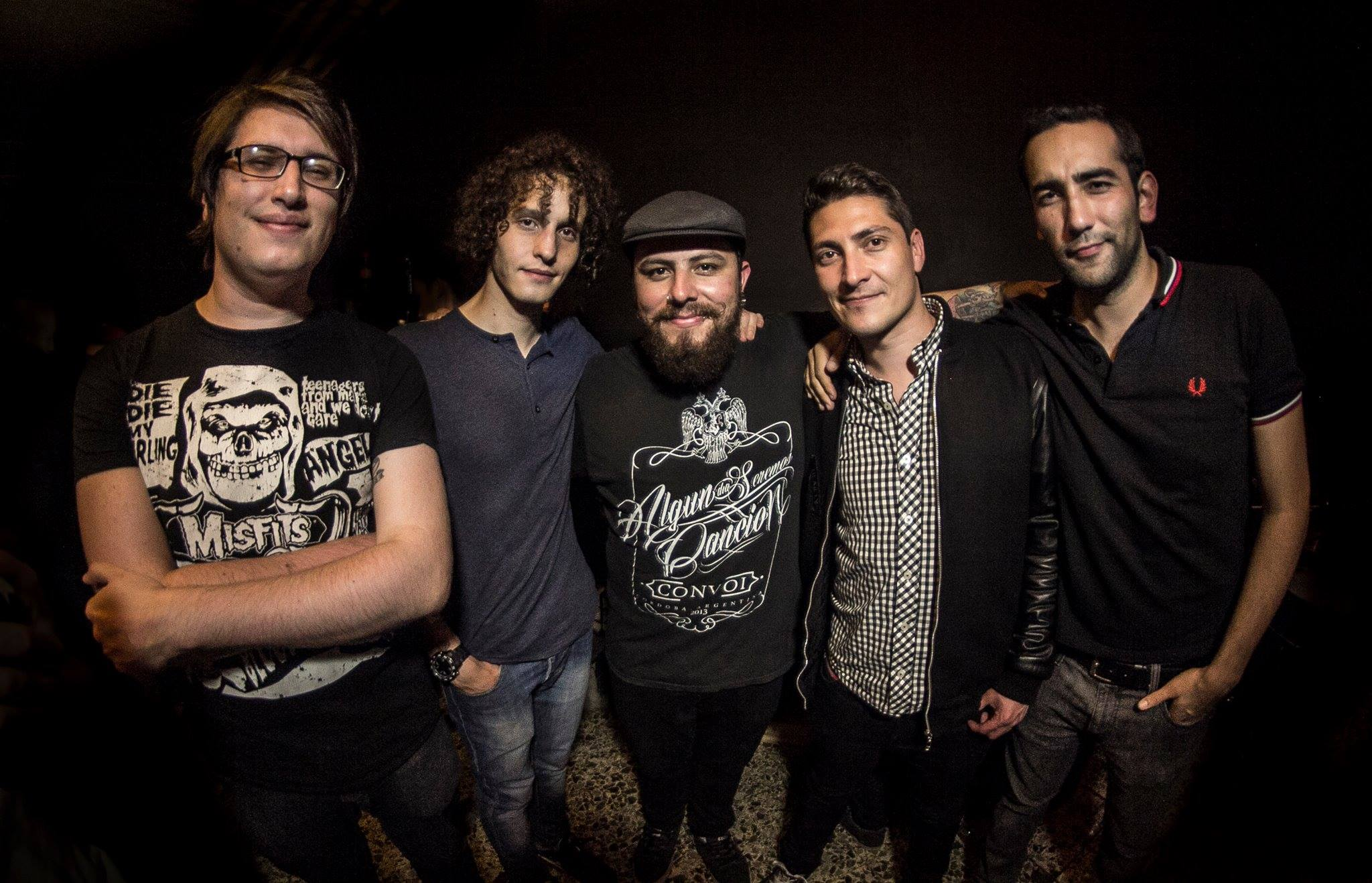 Integrantes de Dearlys - Banda de easycore / poppunk de Bogota Colombia