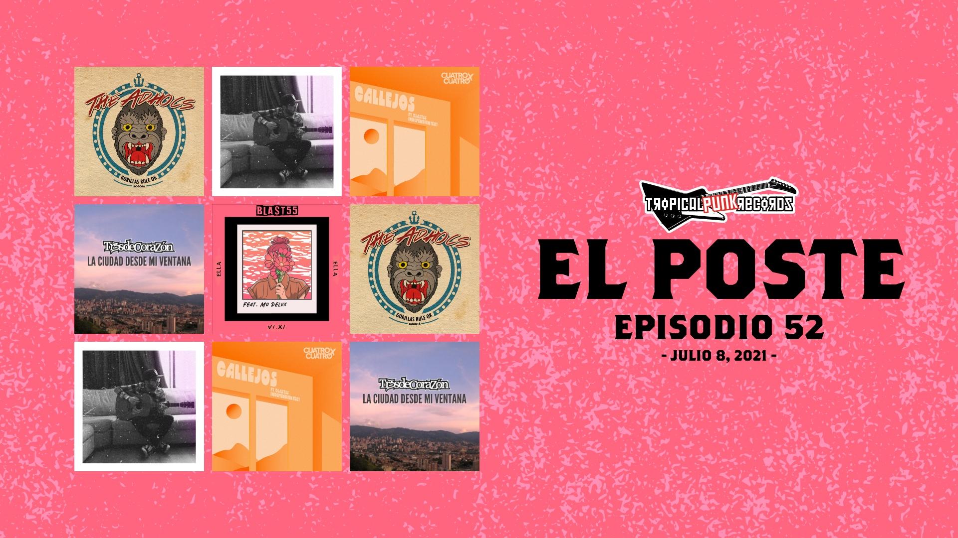 El Poste con The Adhocs, Parachute Folk, Suicidio Colectivo, Cuatro x Cuatro, Tr3s de CoraZon y Blast 55. El Neo Travel Cast es un podcast de Tropical Punk Records.