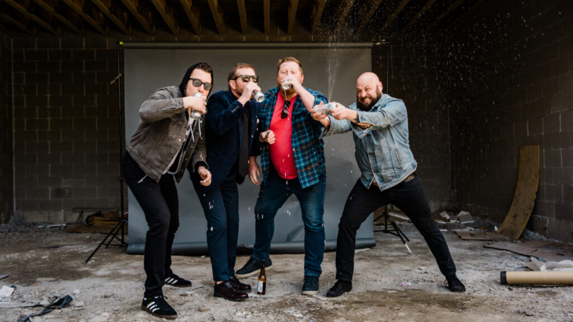 Work Party, banda de hardcore punk desde Chicago, Estados Unidos en Sábado Intenracional de Tropical Punk Records | Foto po Aaron Ehinger