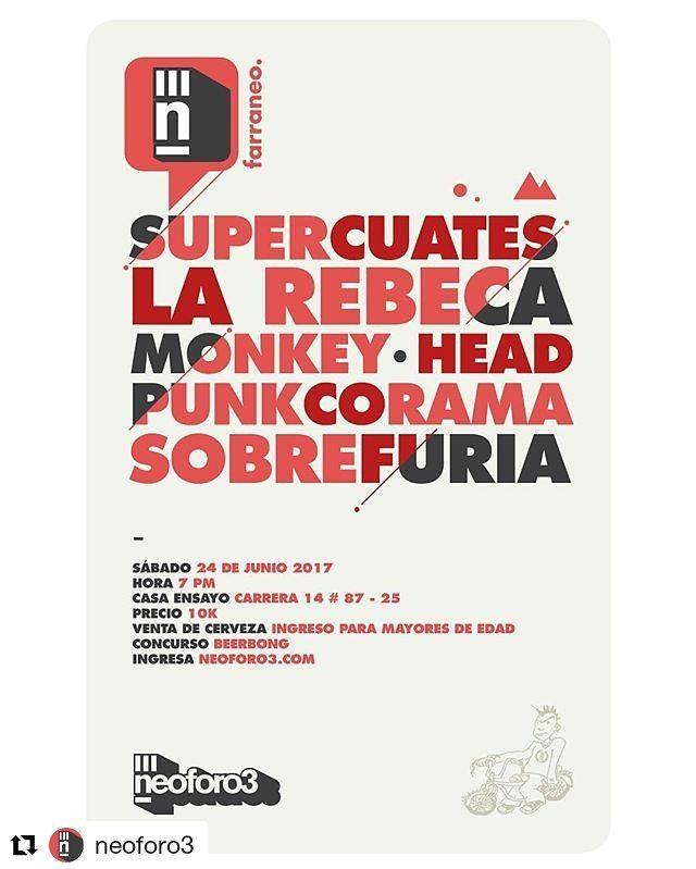 Supercuates junto a La Rebeca, Monkey Head y Sobrefuria