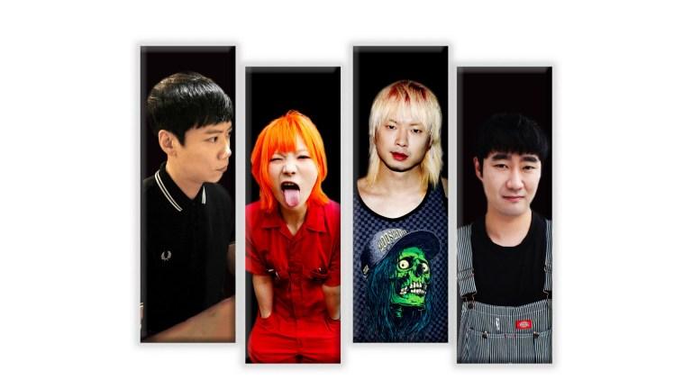 Desde Corea del Sur, nos montamos a la rampa del skate punk de Dead Chant