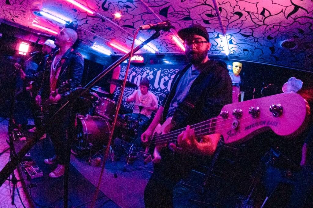 Foto de ska punk en vivo - El Piloto Ciego