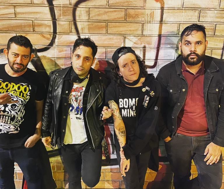 Audiodisturbio, una banda que ha Nacido Para Luchar