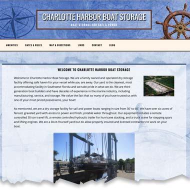 Charlotte Harbor Boat Storage