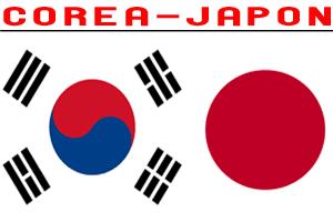 Miniatura Corea y Japón