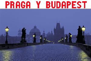 Miniatura de Praga y Budapest