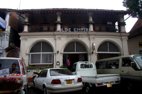 HOTEL OLDE EMPIRE EN KANDY
