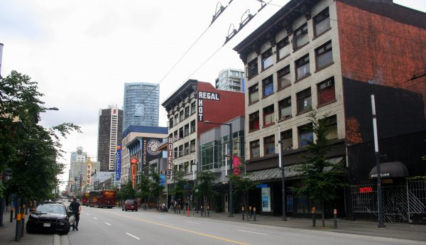 GRANVILLE STREET. VANCOUVER. CANADÁ