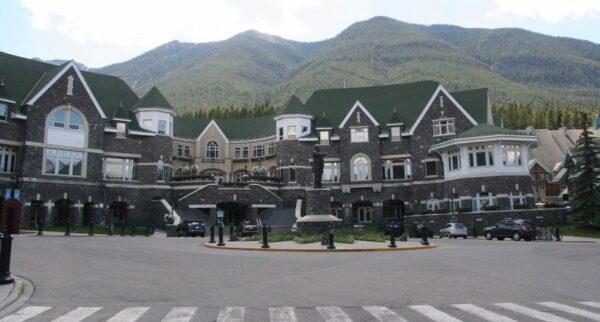 HOTEL FAIRMONT. BANFF. CANADÁ.