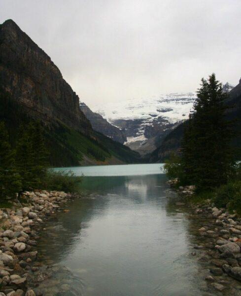 LAKE LOUISE. P. NAC. LAKE LOUISE. CANADÁ.