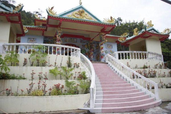 CHINESE TEMPLE EN KO PHA NGAN, TAILANDIA