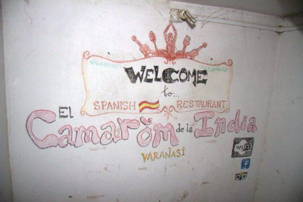 RESTAURANTE CAMAROM DE LA INDIA EN VARANASI