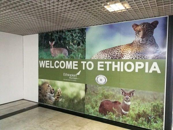 LLEGADA A ETIOPÍA