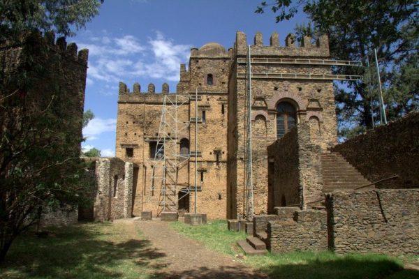PALACIO DE MENTUAB EN LA CIUDADELA DE FASILIDES, GONDAR