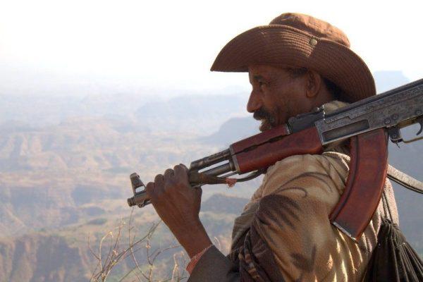 AWACA, NUESTRO SCOUT EN EL PARQUE NACIONAL SIMIEN MOUNTAINS