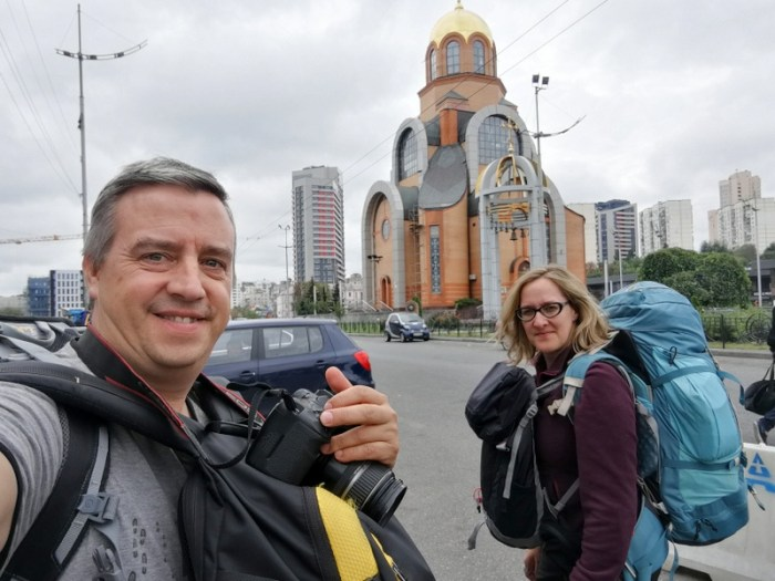 BEATRIZ Y JORGE EN KIEV