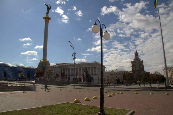 PLAZA DE LA INDEPENDENCIA O MAIDAN, KIEV