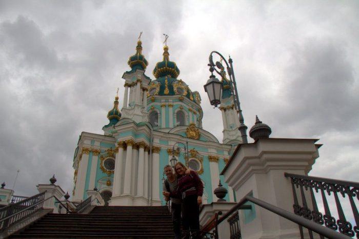 IGLESIA DE SAN ANDRÉS, KIEV