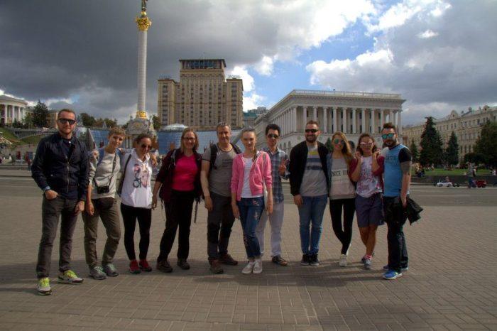 FOTO DE GRUPO DEL FRRE TOUR EN KIEV