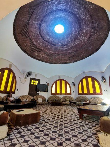 EN EL DREAM LODGE HOTEL DE RELAX EN SIWA