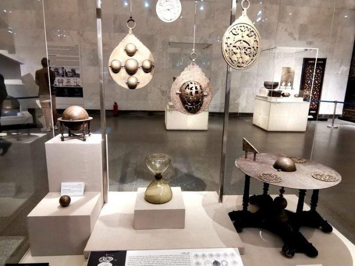 ASTROLABIOS EN EL MUSEO NMEC EN EL CAIRO