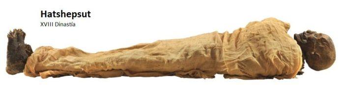 MOMIA HATSHEPSUT EN EL MUSEO NMEC EN EL CAIRO