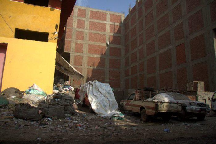 CIUDAD DE LA BASURA EN EL CAIRO