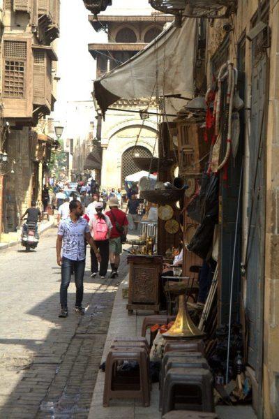 CALLE AL MUIZZ EN EL CAIRO